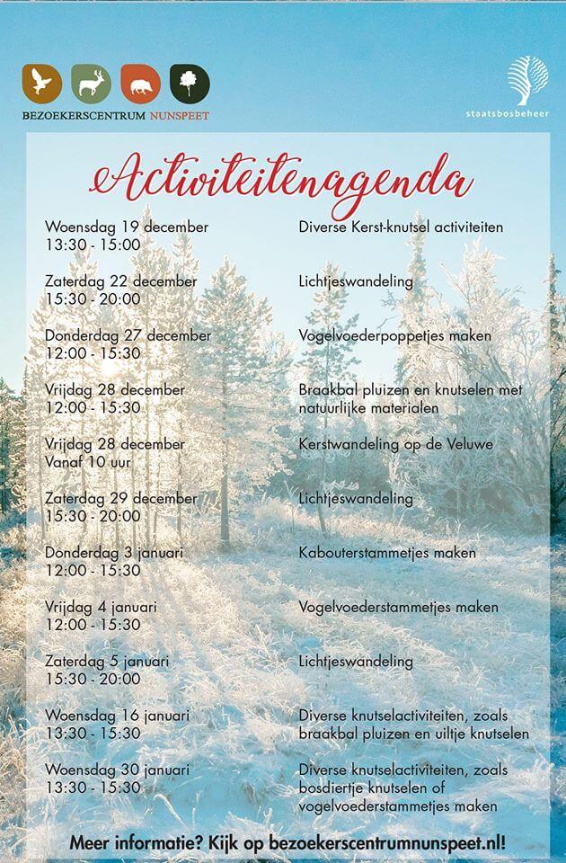 kerst agenda